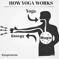 how yoga works meme
