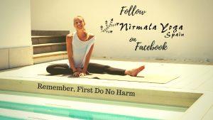 Button Follow Nirmala Yoga on Facebook
